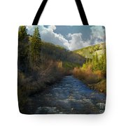 Early Spring Delores River Tote Bag