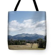 Early Spring In Lake Placid Tote Bag