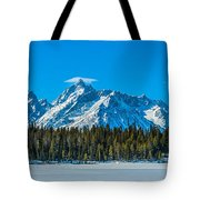 Early Spring In The Tetons Tote Bag