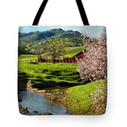 Early Spring In The Valley Tote Bag