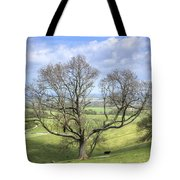 Early Spring On Steryning Bowl Tote Bag