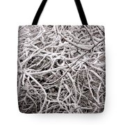 Early Spring Snow Tote Bag