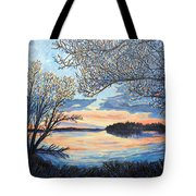 Early Spring Sunset Tote Bag