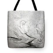 Early Spring Tulips Tote Bag