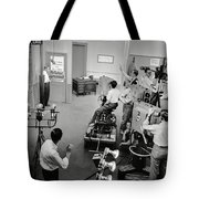 Early Television Production 1947 Tote Bag