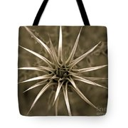 Early Thistle Tote Bag