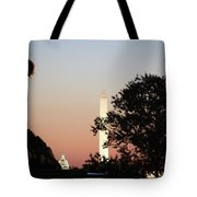 Early Washington Mornings - Cpl Block - For Liberty Tote Bag