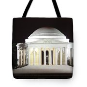 Early Washington Mornings - The Jefferson Memorial Tote Bag