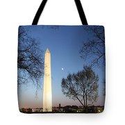Early Washington Mornings - The Washington Monument Tote Bag