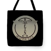 Early Winged Boeing Logo Tote Bag