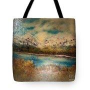 Early Winter Mountain Range Tote Bag