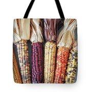 Ears Of Indian Corn Tote Bag