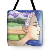 Earth - The Elements Tote Bag by Amy S Turner