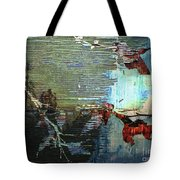 Earth Abstract Tote Bag