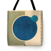 Earth And Moon Graphic Tote Bag