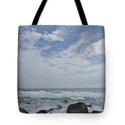 Earth And Sea And Sky In April Tote Bag