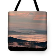 Earth And Sky. Tote Bag by Itai Minovitz