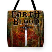 Earth Blood Cover Art Tote Bag