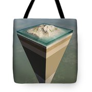 Earth Core Structure Cut-away Tote Bag