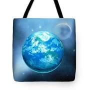 Earth Tote Bag by Corey Ford