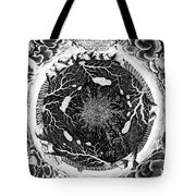Earth: Cross-section, 1664 Tote Bag
