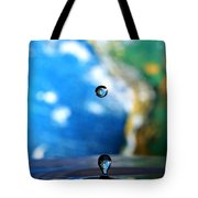 Earth Day Drips Tote Bag