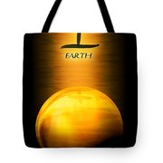 Earth Elemental Sphere Tote Bag