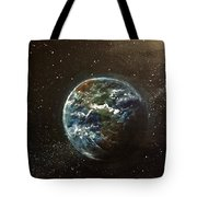 Earth From Above  Tote Bag