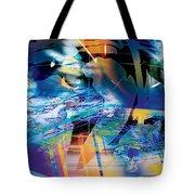 Earth Lights Tote Bag