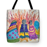 Earth Mothers - Feeding  The Fire Tote Bag