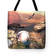 Earth Pearls Tote Bag