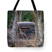 Earth Reclaims A Truck Tote Bag