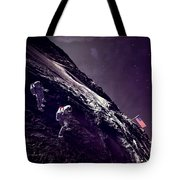Earth Rise On The Moon Tote Bag