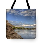 Earth, Sky And Water Tote Bag
