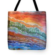 Earth Tones Tote Bag