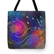 Earth, Zen, Peace 2 Tote Bag