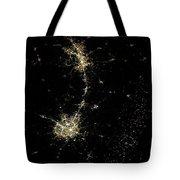 Earthbound Nebulae Tote Bag