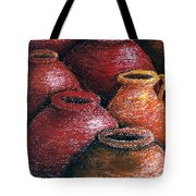 Earthen Vessels Iv Tote Bag