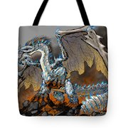 Earthquake Dragon Tote Bag