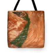 Earths Wind - Tile Tote Bag