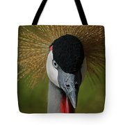 East African Crowned Crane Upclose Tote Bag