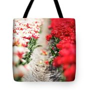 East And West A Dutch Tulip Story Tote Bag