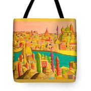 East And West Tote Bag