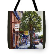 East Bay St. Charleston Sc Tote Bag