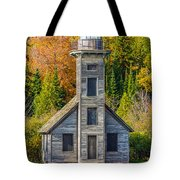 East Channel Lighthouse Tote Bag