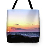 East Coast Sunrise Tote Bag