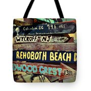 East Coasters Tote Bag