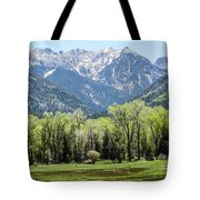 East Fork Mountain Valley Tote Bag