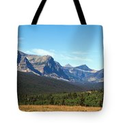 East Glacier Park Tote Bag