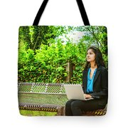 East Indian American College Student Tote Bag